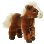 16cm Standing Soft Horse