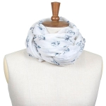 Toggi Whisby Horse Scarf  Winter White