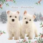 Christmas Cards : Yuletide Pups
