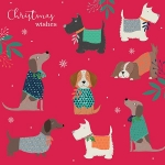 Christmas Cards : Doggy Jumpers