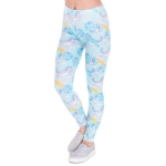 Leggings:  Unicorn/Clouds