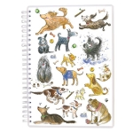 A5 Wiro Notebook:  Dogs