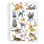 A5 Wiro Notebook:  Dogs