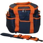 Elico Grooming Bag:  Marine/Orange