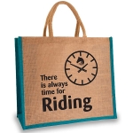 Elico Jute Shopper - Always Time
