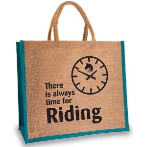 Elico Jute Shopper - Always Time