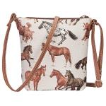 Sling Bag : Running Horses