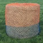 Elico Wild Boar Bale Net Orange/Turquois