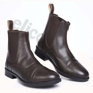 Elico Hartshead Zip Front Boots Brown