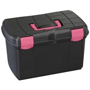 Plastica Panaro Groom Box Black/Fuchsia