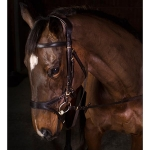 Freedom Comfort Bridle Brown Pony