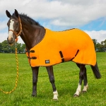 Elico Brighton Fleece Rugs  Orange