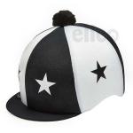 Capz Lycra STARS Black/White + Pom Pom
