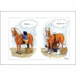 AL00  Alison's  Horses Cards  (x6)