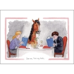 Alison's  Horses Cards  (x6)