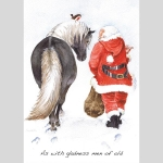 Christmas Cards : As with Gladness