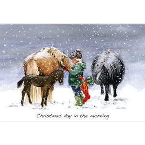 Christmas Cards : Christmas Day Morning