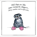 DL00  Dog Lovers Selection Cards  (x6)