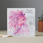 Fanciful Dolomite Birthday Cards (x6)