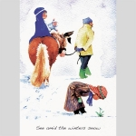 Christmas Cards : See Amid the Winters