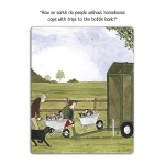 TBG00  Cards : Tottering by Gently  (x6)