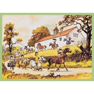 Thelwell Selection Greetings Cards  (x6)