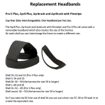 Charles Owen Replacement Plus Headband