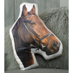 Adorable Horse Shaped Cushion - Brown