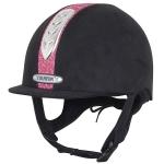 Champion Dazzle Plus Hat Blk/Pink 53cm