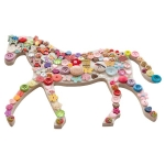 Dotty Buttons : Horse