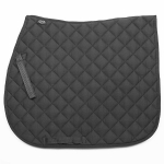 Elico Quilted Saddlecloth - Black Small
