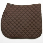Elico Quilted Saddlecloths Brown