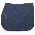 Elico Quilted Saddlecloth - Navy Small