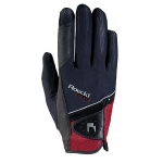 Roeckl Madrid Gloves  Black/Red