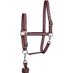 Elico Gosforth Headcollar/Rope Set - Pink/Aqua