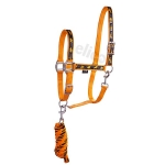 Elico  Brighton Headcollar/Rope Sets Orange