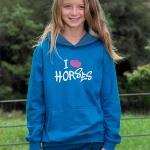 HWA Childs 'I Love Horses' Hoodie