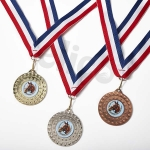 Elico Medals with Ribbons (Pack of 10)