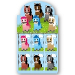 Cartoon Ponies: Memo Pads  (x 36)