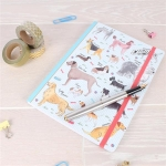 Debonair Dogs A5 Notebook