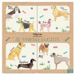 Debonair Dogs Coasters (set of 4)