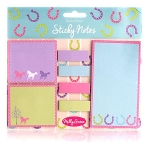 Milly Green Ponies Sticky Notes (x 10)