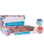 MLP Light Up Glitter Ball: display of 12