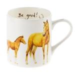 Bone China Mug - Be Good