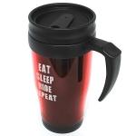 Thermo Travel Mug      EAT .. SLEEP