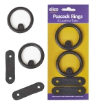 Elico Peacock Rings/Tabs in Blister Pack