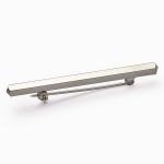 EE15 Elico Stock Pin - Plain Bar Silver