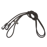 Elico Elasticated Training Reins (Bungee)