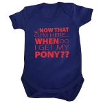 Baby Romper - My Pony - Navy