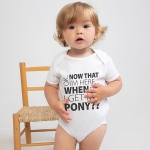 Baby Romper - My Pony - White